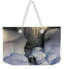 Niagara Falls Frozen Weekender Tote Bag