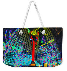 Nightlife Around Charlotte During Christmas Weekender Tote Bag