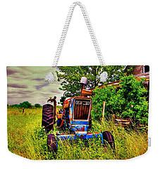 Old Ford Tractor Weekender Tote Bag by Savannah Gibbs