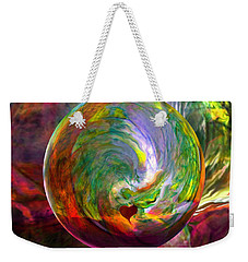 Orbing A Sea Of Love Weekender Tote Bag