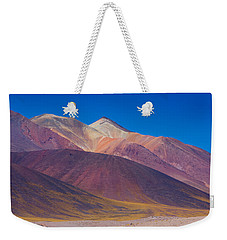 Painted Atacama Weekender Tote Bag