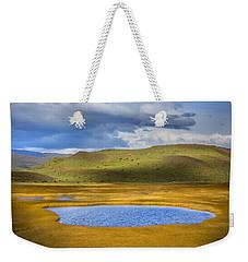 Patagonian Lakes Weekender Tote Bag