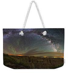 Pinnacles Overlook At Night Weekender Tote Bag