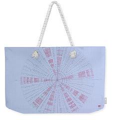 Prime Number Pattern P Mod 30 Weekender Tote Bag by Jason Padgett