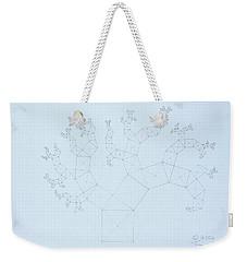 Quantum Tree Weekender Tote Bag