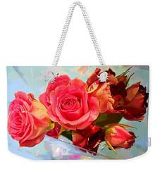 Roses 4 Lovers  Weekender Tote Bag
