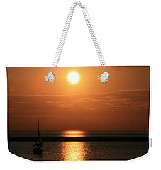 Sailboat A Drift Weekender Tote Bag