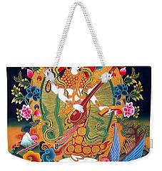 Saraswati 3 Weekender Tote Bag