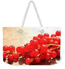 Scarlet Berries Weekender Tote Bag
