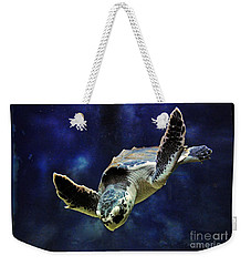 Weekender Tote Bag featuring the photograph  Sea Turtle by Savannah Gibbs