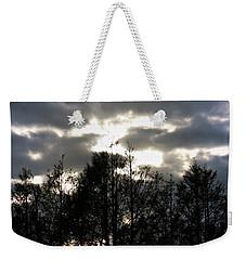 Silhouettes Toward Sunset Weekender Tote Bag