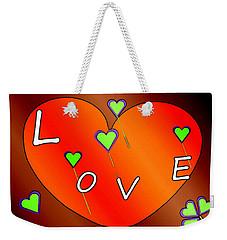 Simple  Love  Heart  - 505  Weekender Tote Bag