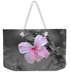 Soft Pink Weekender Tote Bag by Michelle Meenawong