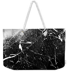 Weekender Tote Bag featuring the photograph  Spidernet by Yulia Kazansky