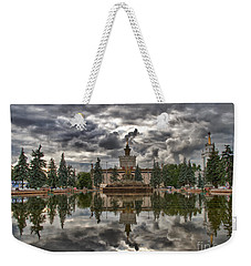 Stone Flower Moscow Weekender Tote Bag by Stelios Kleanthous
