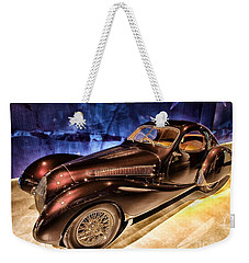 Weekender Tote Bag featuring the photograph  Talbot Lago 1937 Car Automobile Hdr Vehicle  by Paul Fearn