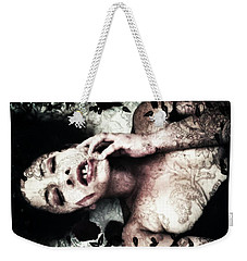 Tempt Me  Weekender Tote Bag by Jessica Shelton