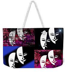 Thalia And Melpomene Weekender Tote Bag by EricaMaxine  Price