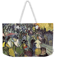 The Arena At Arles Weekender Tote Bag by Vincent van Gogh
