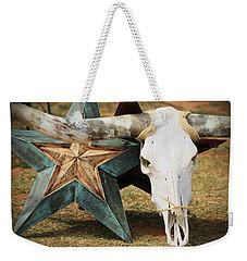 The Heart Of Texas Weekender Tote Bag