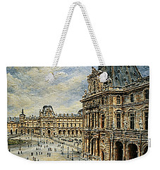 The Louvre Museum Weekender Tote Bag by Joey Agbayani