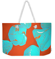 Turquoise Necklace Weekender Tote Bag