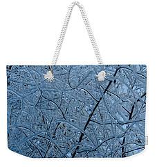 Vegetation After Ice Storm  Weekender Tote Bag by Daniel Reed