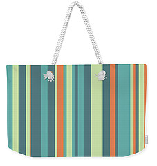 Vertical Strips 17032013 Weekender Tote Bag