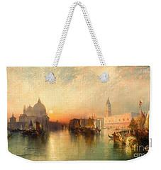 View Of Venice Weekender Tote Bag