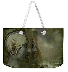 When A Man's Thoughts Turn Toward The Sea Weekender Tote Bag by Jeff Burgess