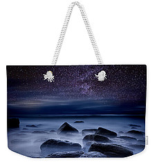 Where Dreams Begin Weekender Tote Bag by Jorge Maia