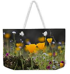 Wildflowers Explode Weekender Tote Bag