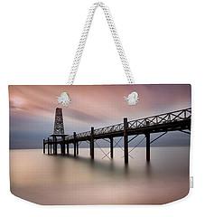 Wooden Pier Weekender Tote Bag