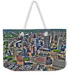 0017 Visual Highs Of The Queen City Weekender Tote Bag