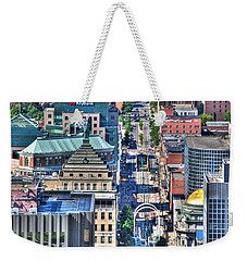 0024 Visual Highs Of The Queen City ...main St... Weekender Tote Bag