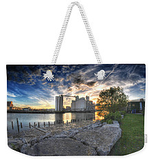 003 General Mills At Sunset Weekender Tote Bag