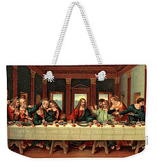0030s The Last Supper After Leonardo Da Weekender Tote Bag