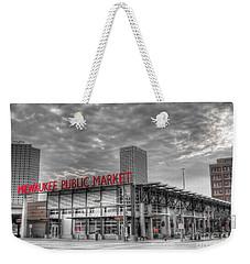 0038 Milwaukee Public Market Weekender Tote Bag