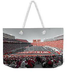 0096 Badger Football Weekender Tote Bag