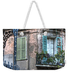0254 French Quarter 10 - New Orleans Weekender Tote Bag by Steve Sturgill