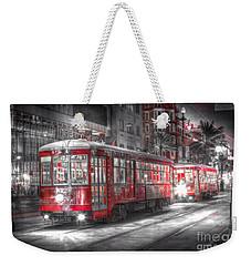0271 Canal Street Trolley - New Orleans Weekender Tote Bag by Steve Sturgill