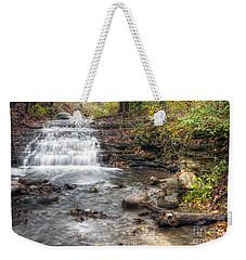 0278 South Elgin Waterfall Weekender Tote Bag