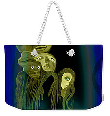 028 -  The  Arrival Of The Gods  Weekender Tote Bag