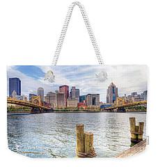 0310 Pittsburgh 3 Weekender Tote Bag by Steve Sturgill