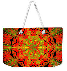 Brighten Your Day.unique And Energetic Art Weekender Tote Bag by Oksana Semenchenko