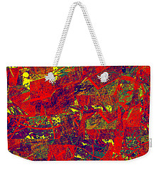 0384 Abstract Thought Weekender Tote Bag