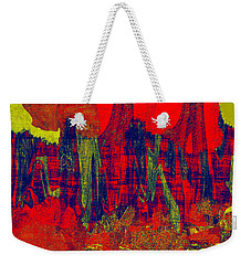 0486 Abstract Thought Weekender Tote Bag