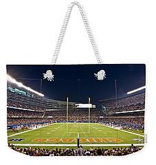 0587 Soldier Field Chicago Weekender Tote Bag