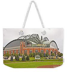 0622 Milwaukee's Miller Park Weekender Tote Bag by Steve Sturgill