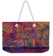 0799 Abstract Thought Weekender Tote Bag